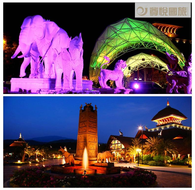 夜间动物园是亚洲最大的夜间动物园之一